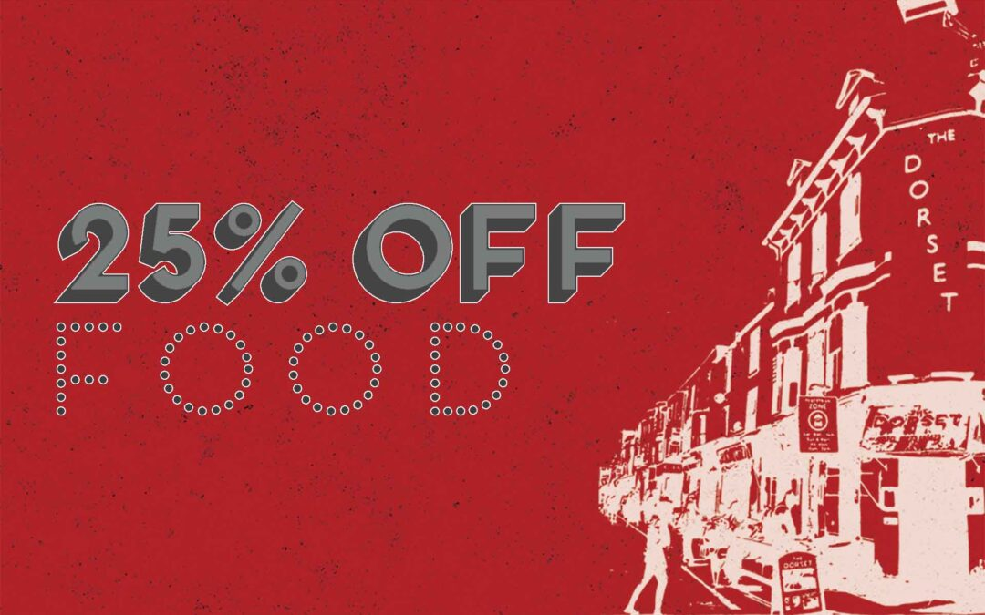 25% Off Food This January